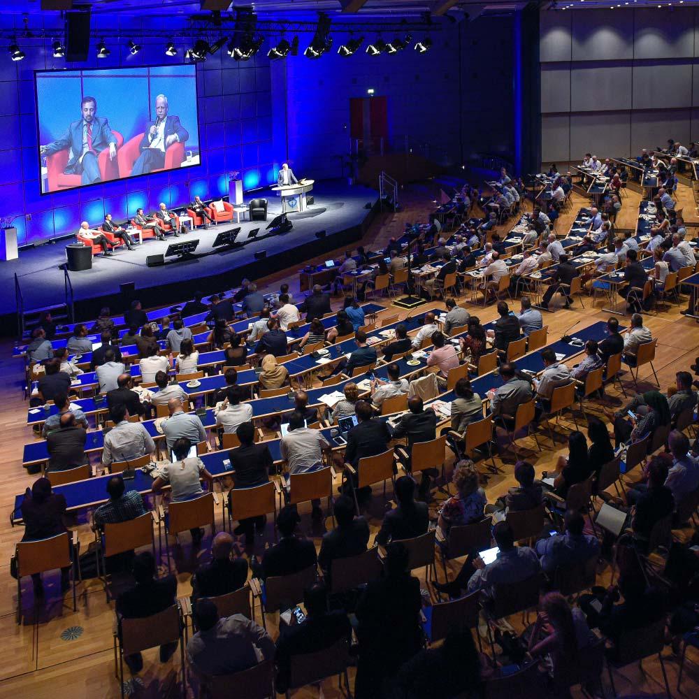 Teilnehmer im Hörsaal beim CSI Congress, Foto: José Poblete