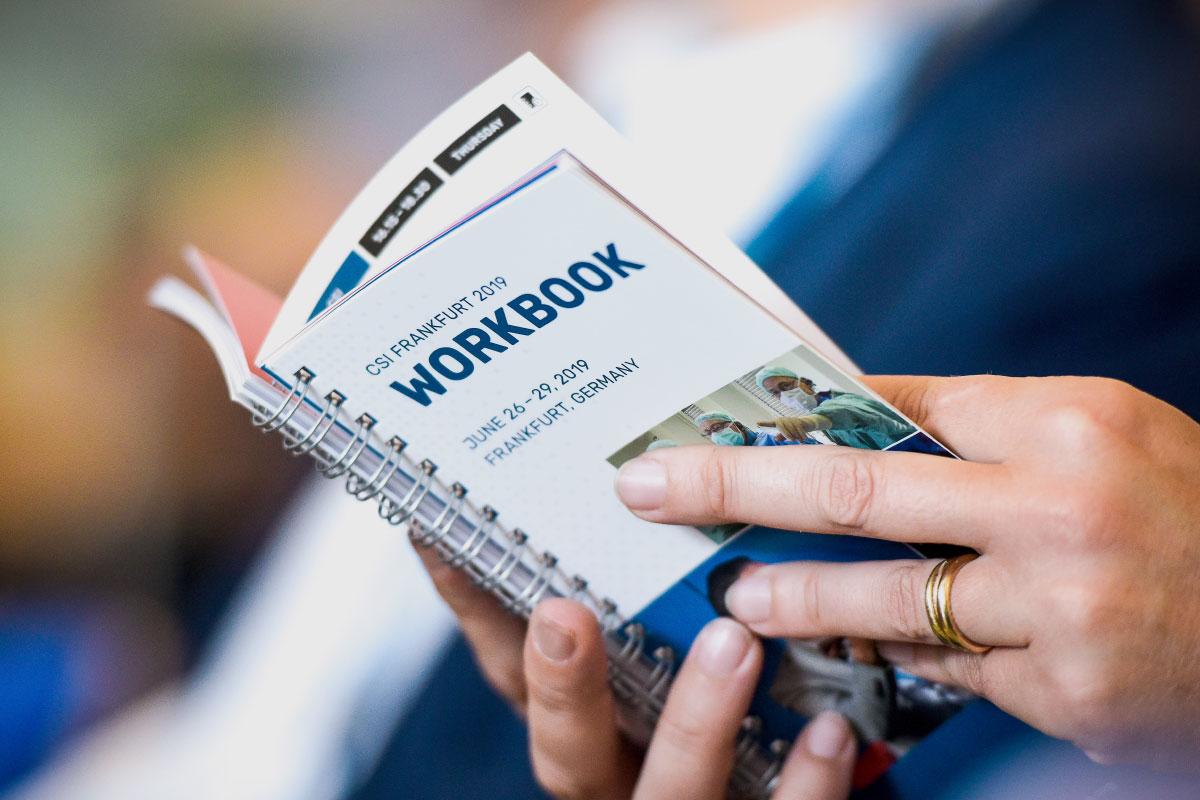 Workbook CSI Congress, Foto: José Poblete