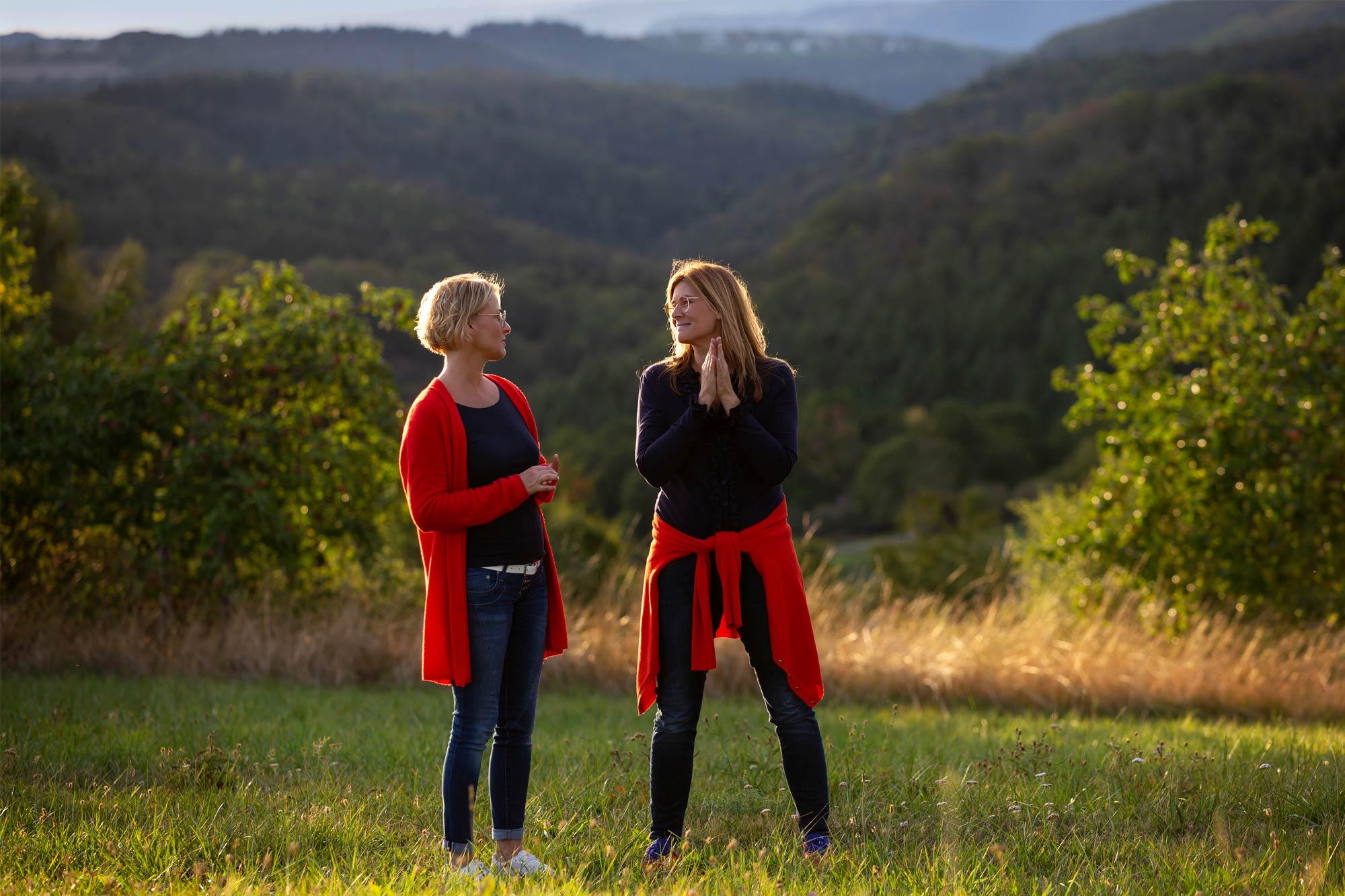 Pia Justen und Tanja Hartung von Designfieber, Foto: Tamara Schlaupitz