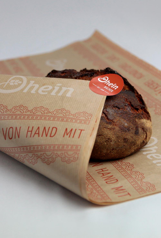 Branding - Packaging Bäckerei Dhein