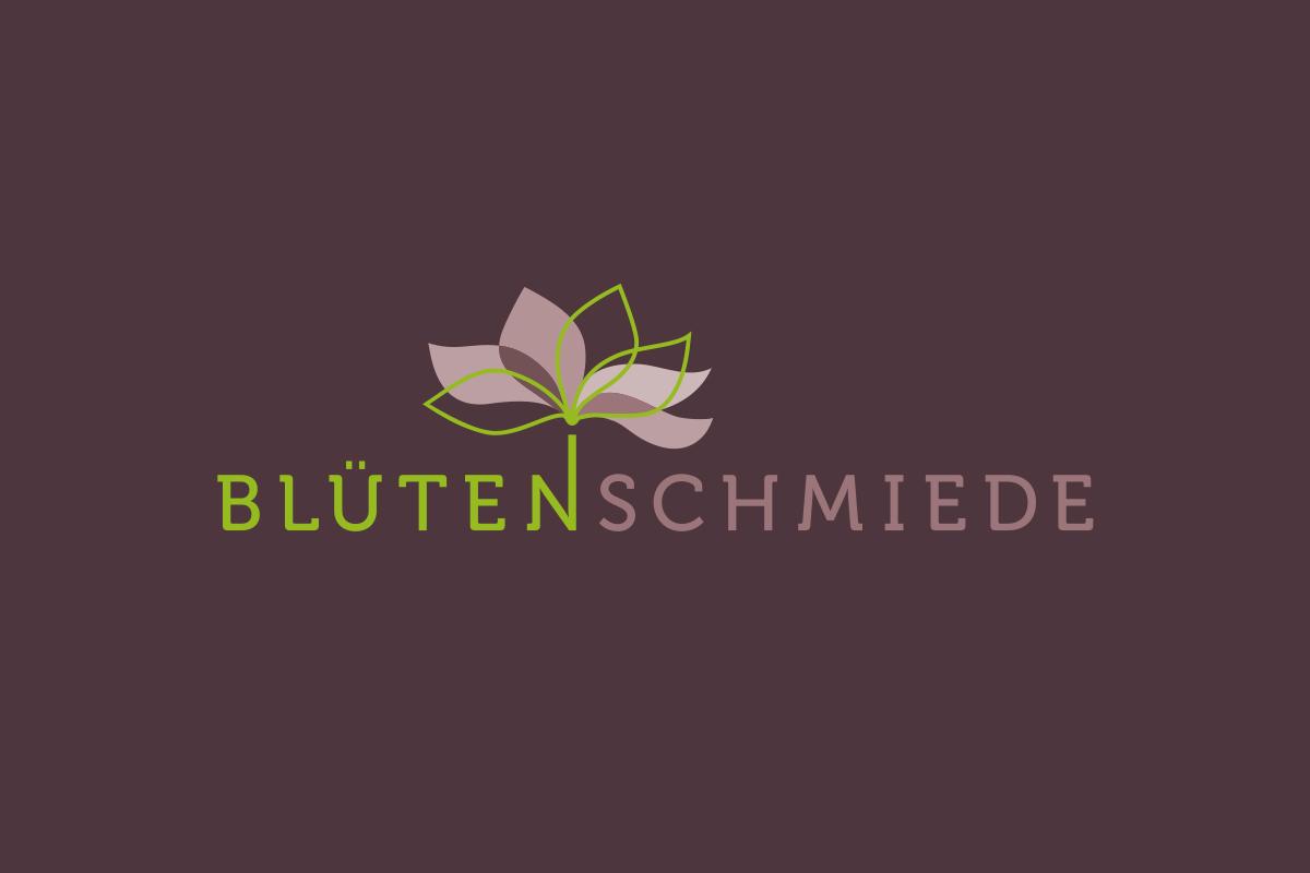 Wortbildmarke Blütenschmiede