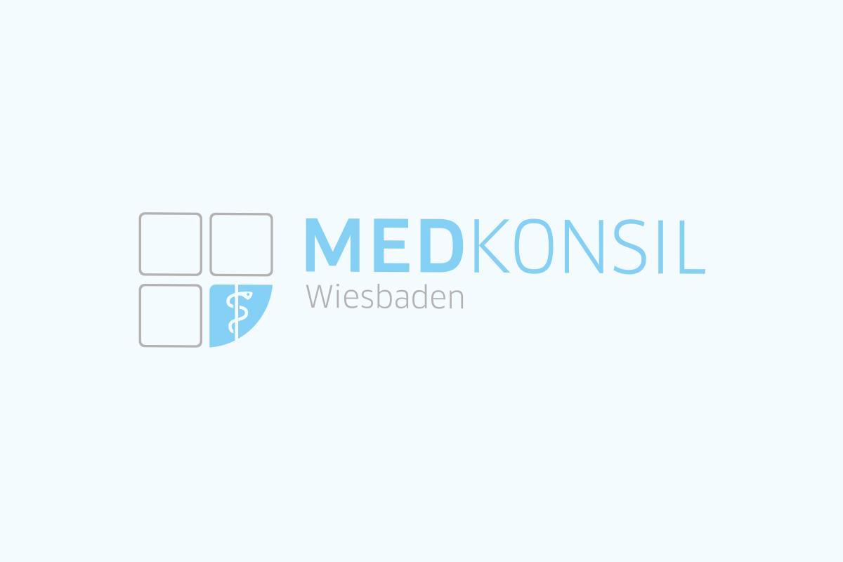 Wortbildmarke Medkonsil Wiesbaden
