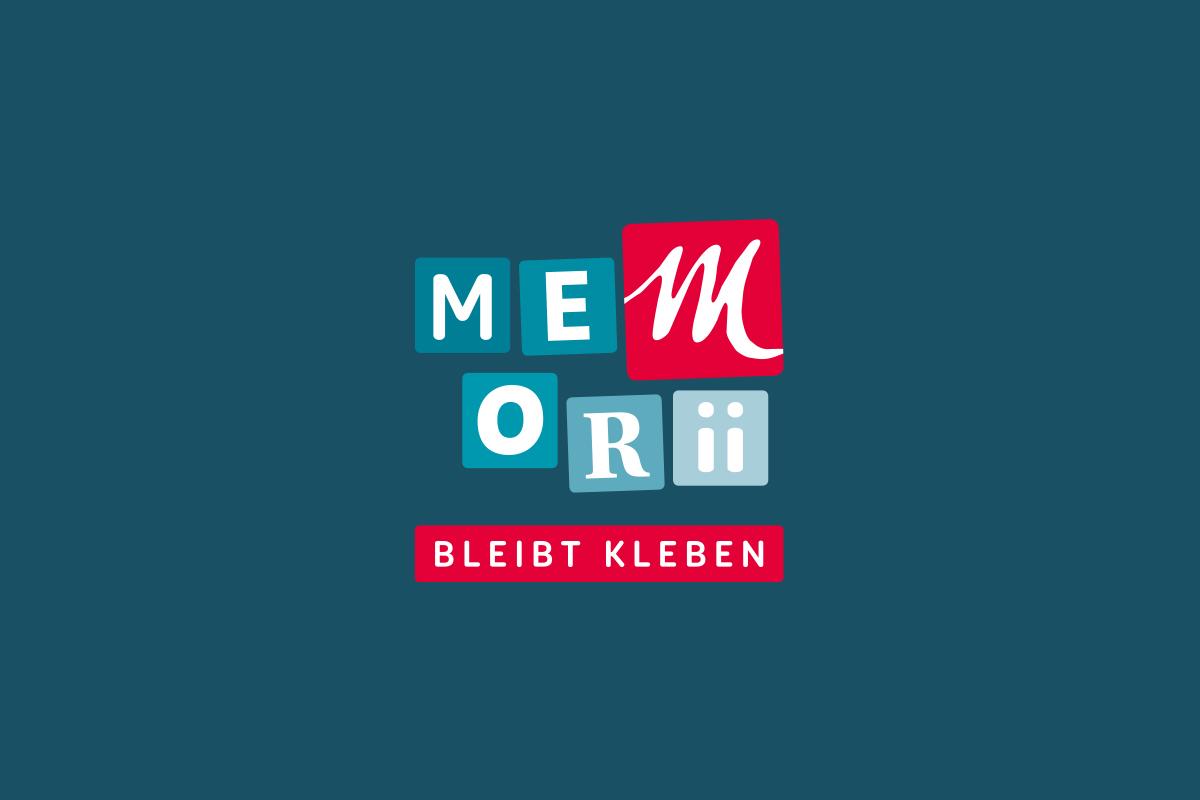 Logo Memorii Beschriftungen