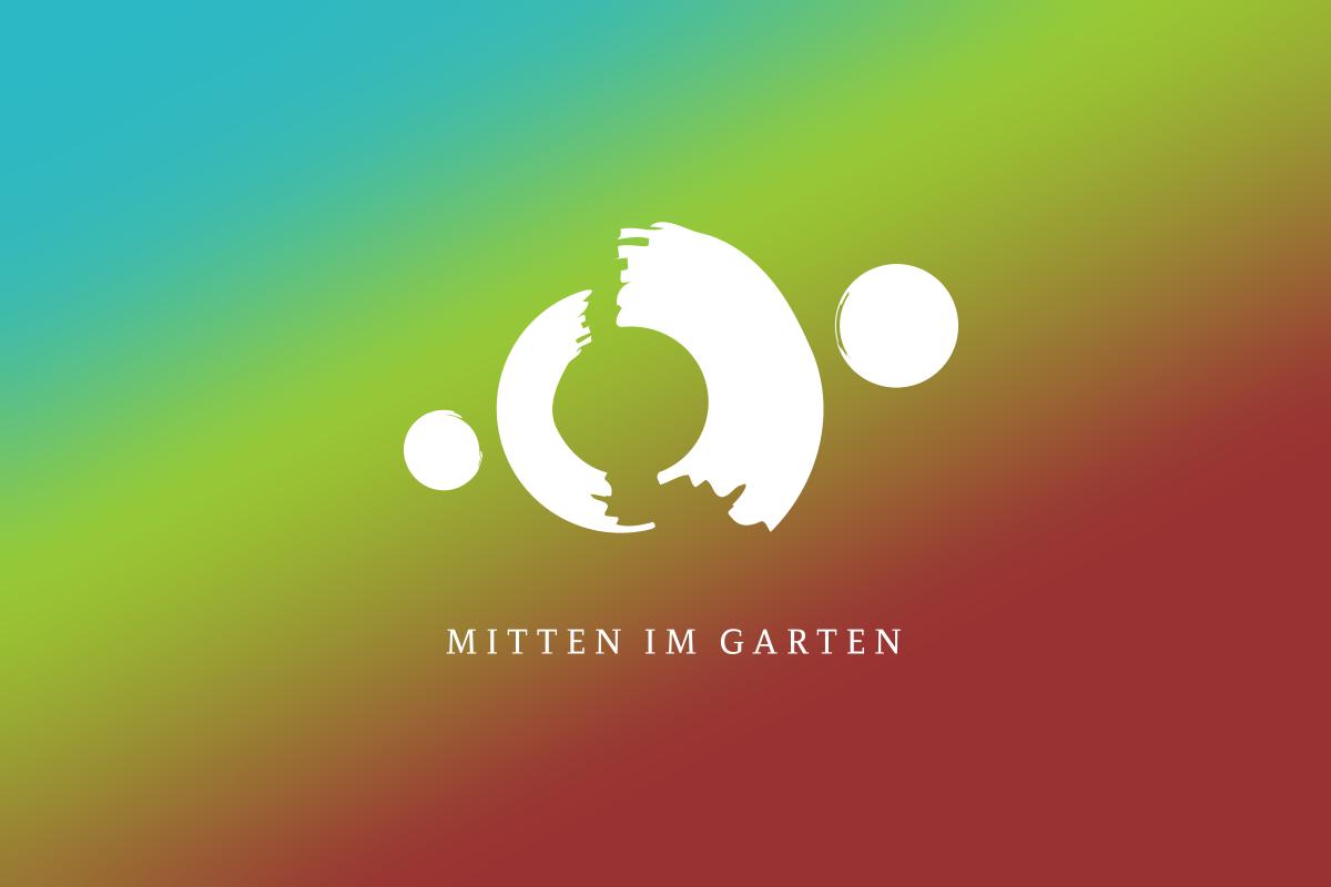 Wortbildmarke Lötzbeuren – Mitten im Garten – by Designfieber
