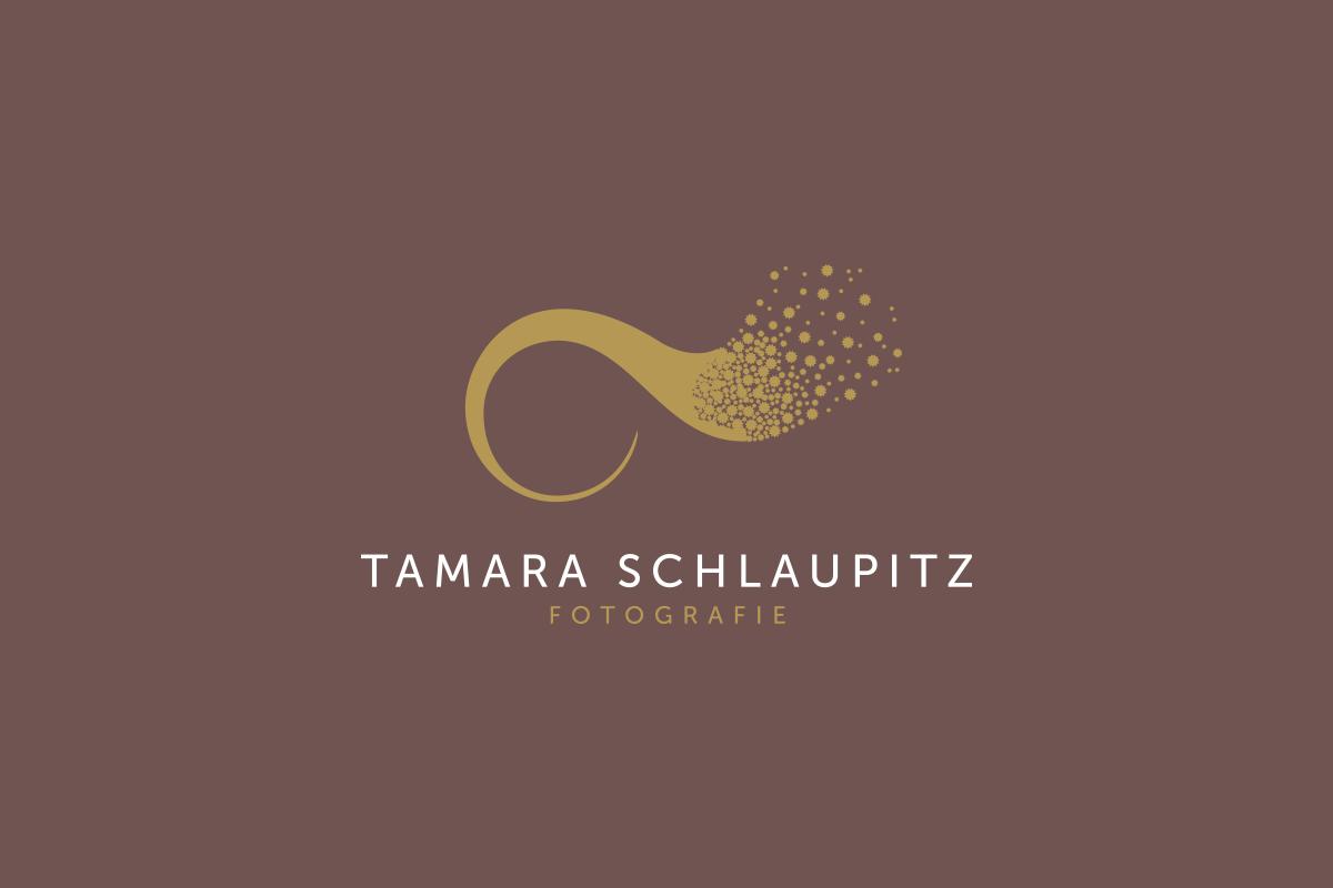 Wortbildmarke Fotografie Tamara Schlaupitz by Designfieber