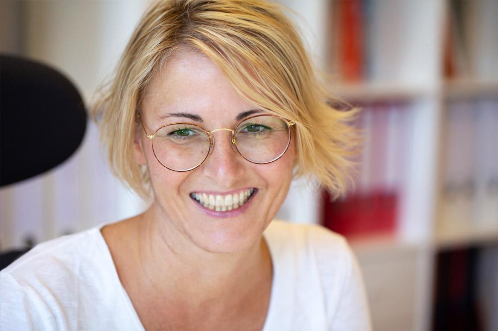 Portrait Pia Justen, Designfieber, Foto: Tamara Schlaupitz