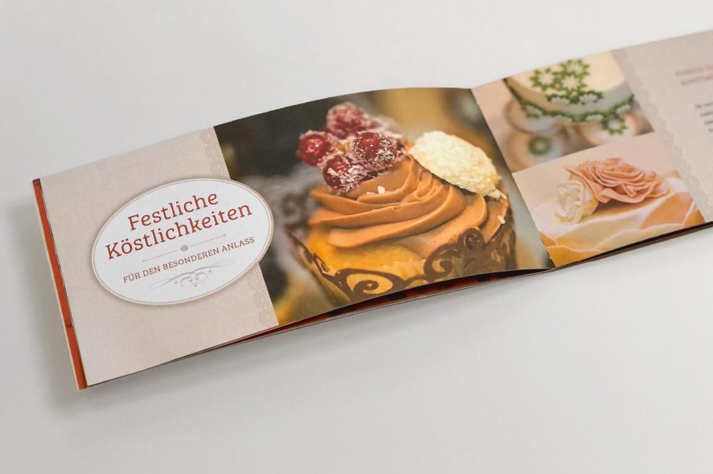 Imagebroschüre Bäckerei Dhein