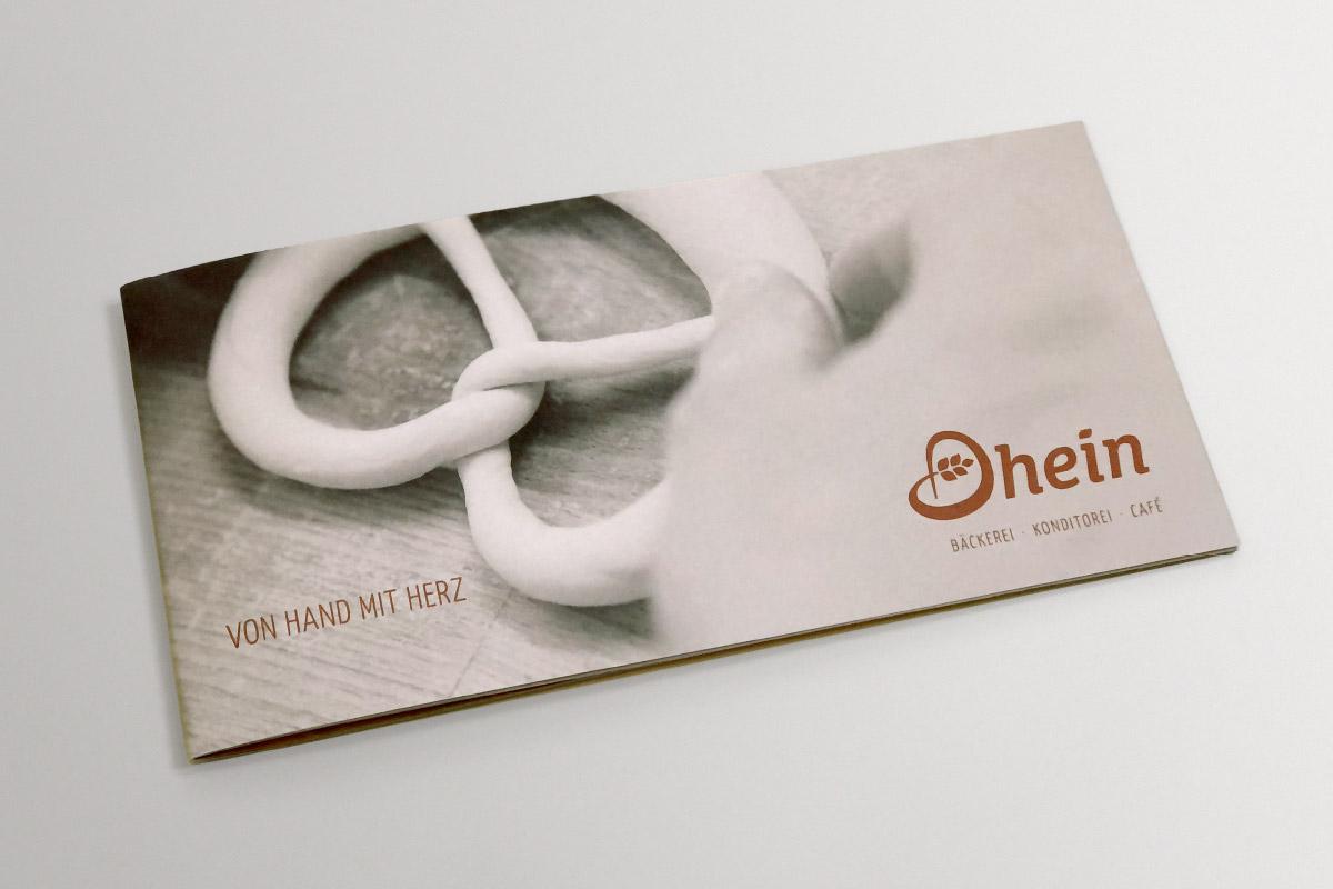 Cover Imagebroschüre Bäckerei Dhein