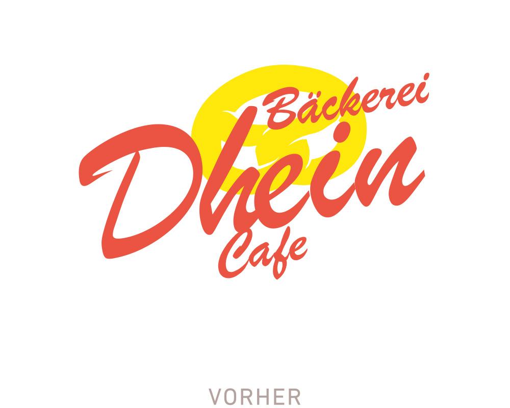 Altes Logo Bäckerei Dhein