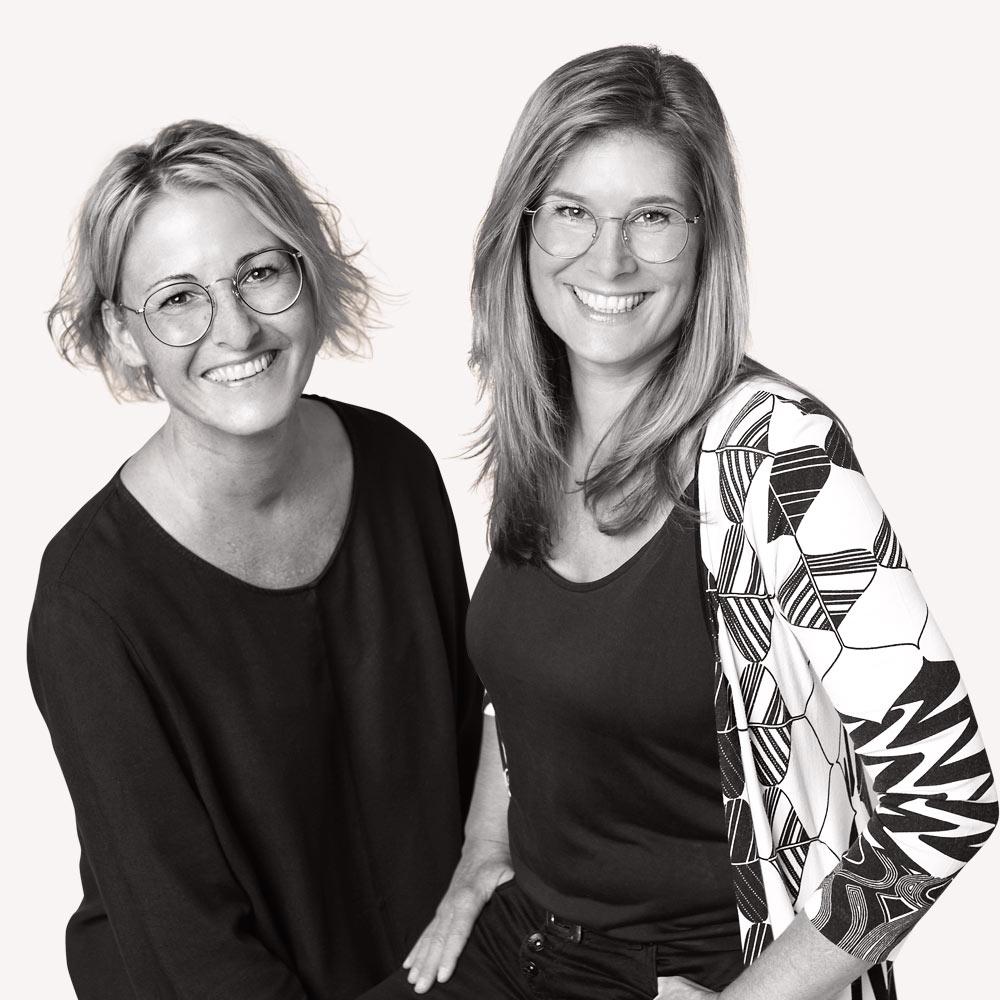 Portrait Pia Justen und Tanja Hartung, Designfieber, Foto: Tamara Schlaupitz