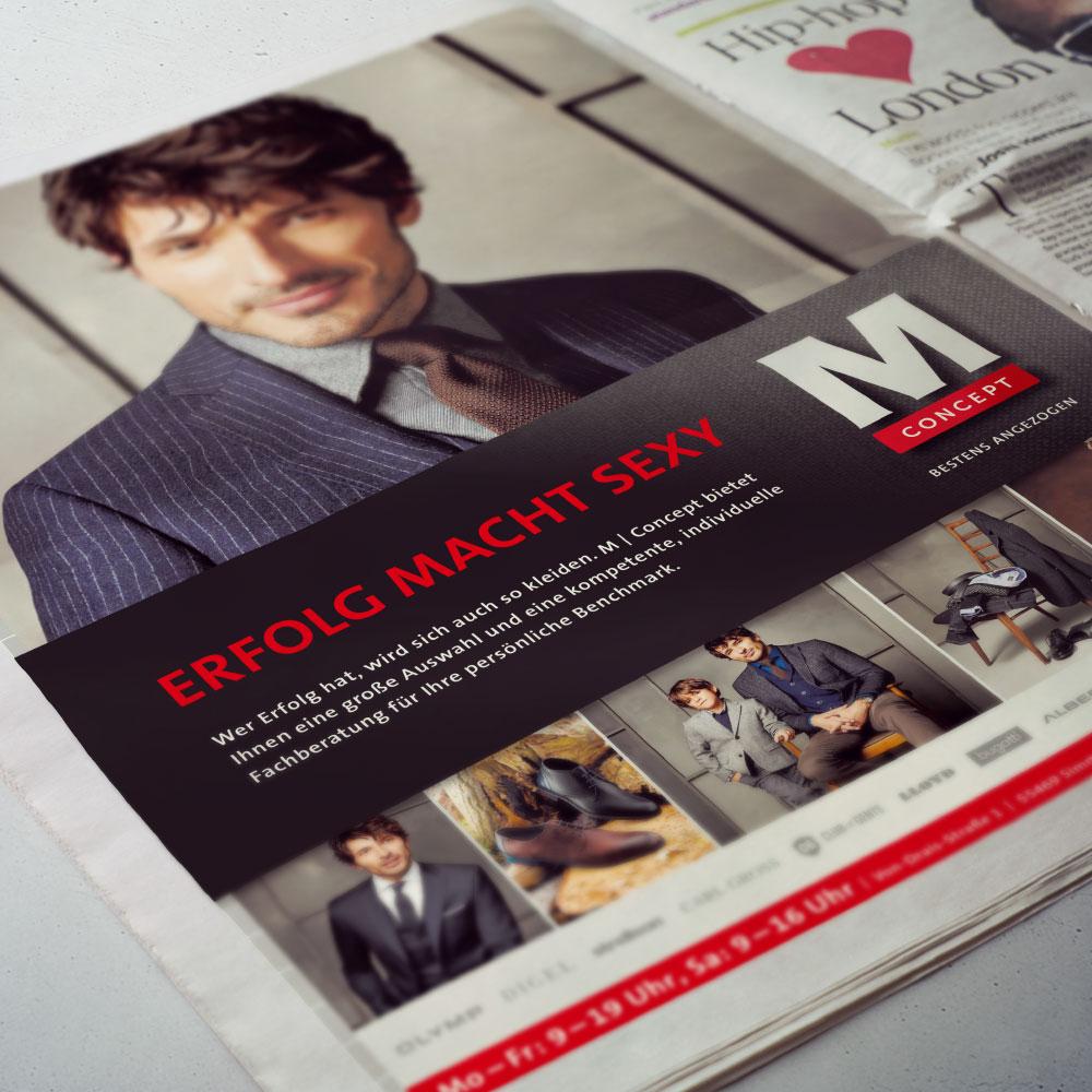 Anzeigenkampagne M Concept