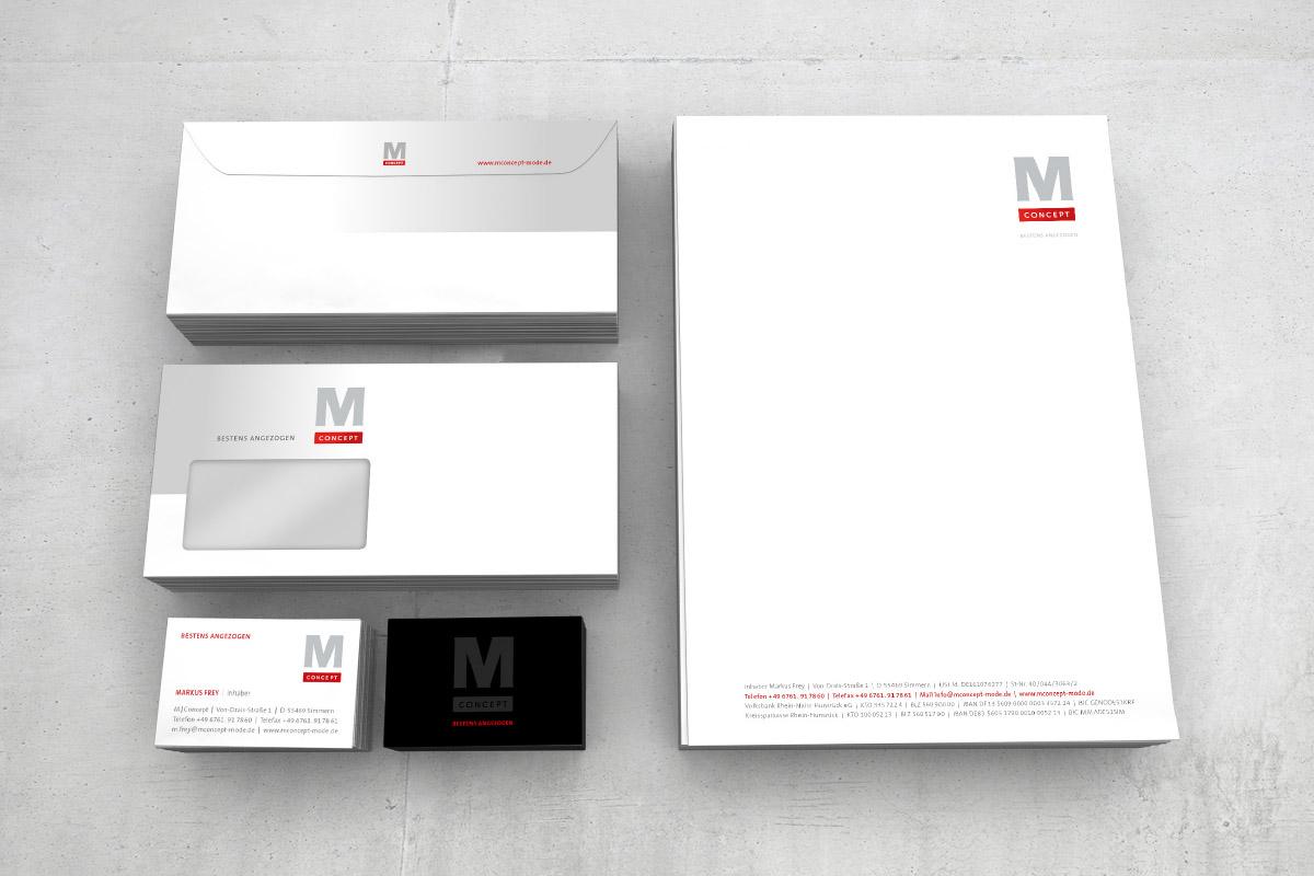 Geschäftsausstattung M Concept