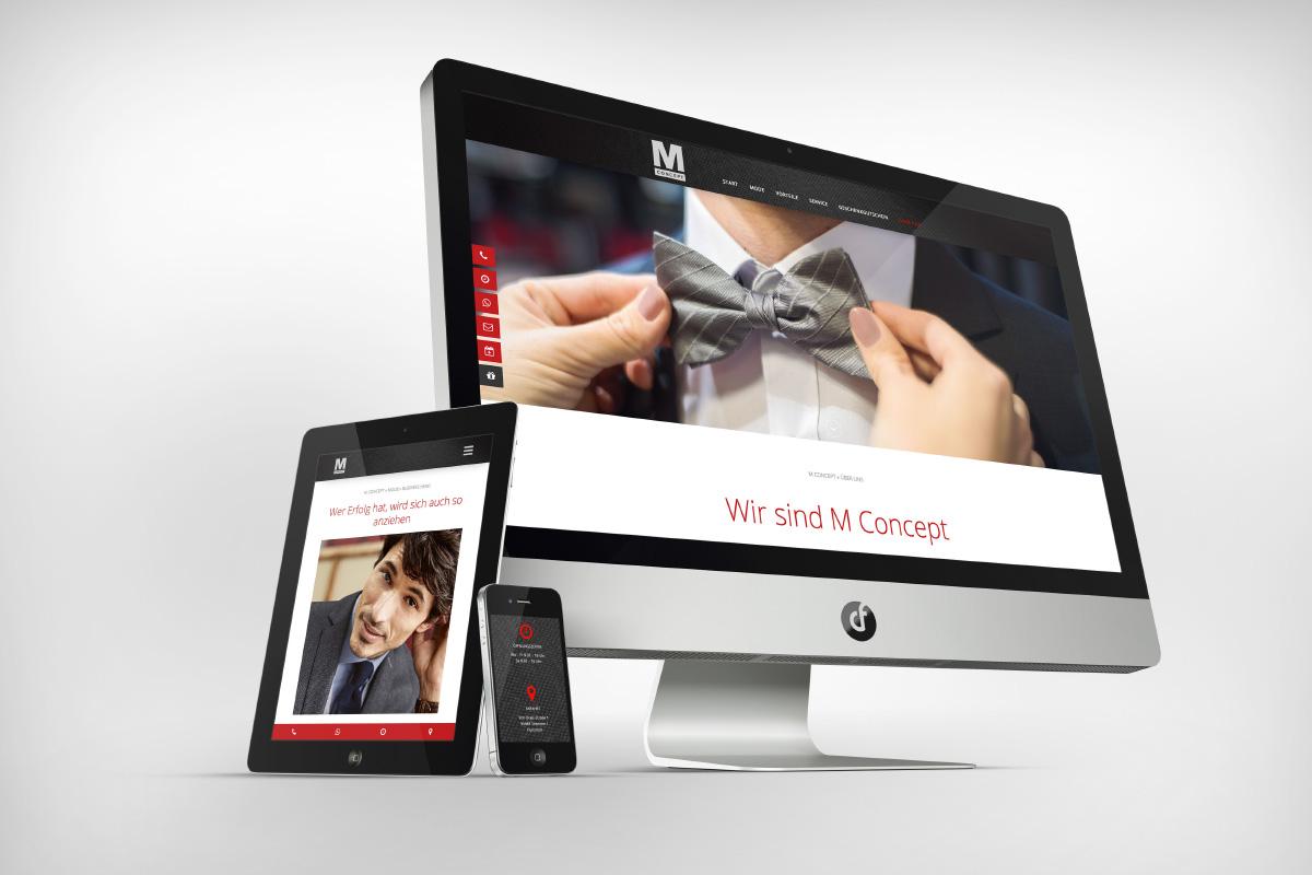 Webdesign M Concept