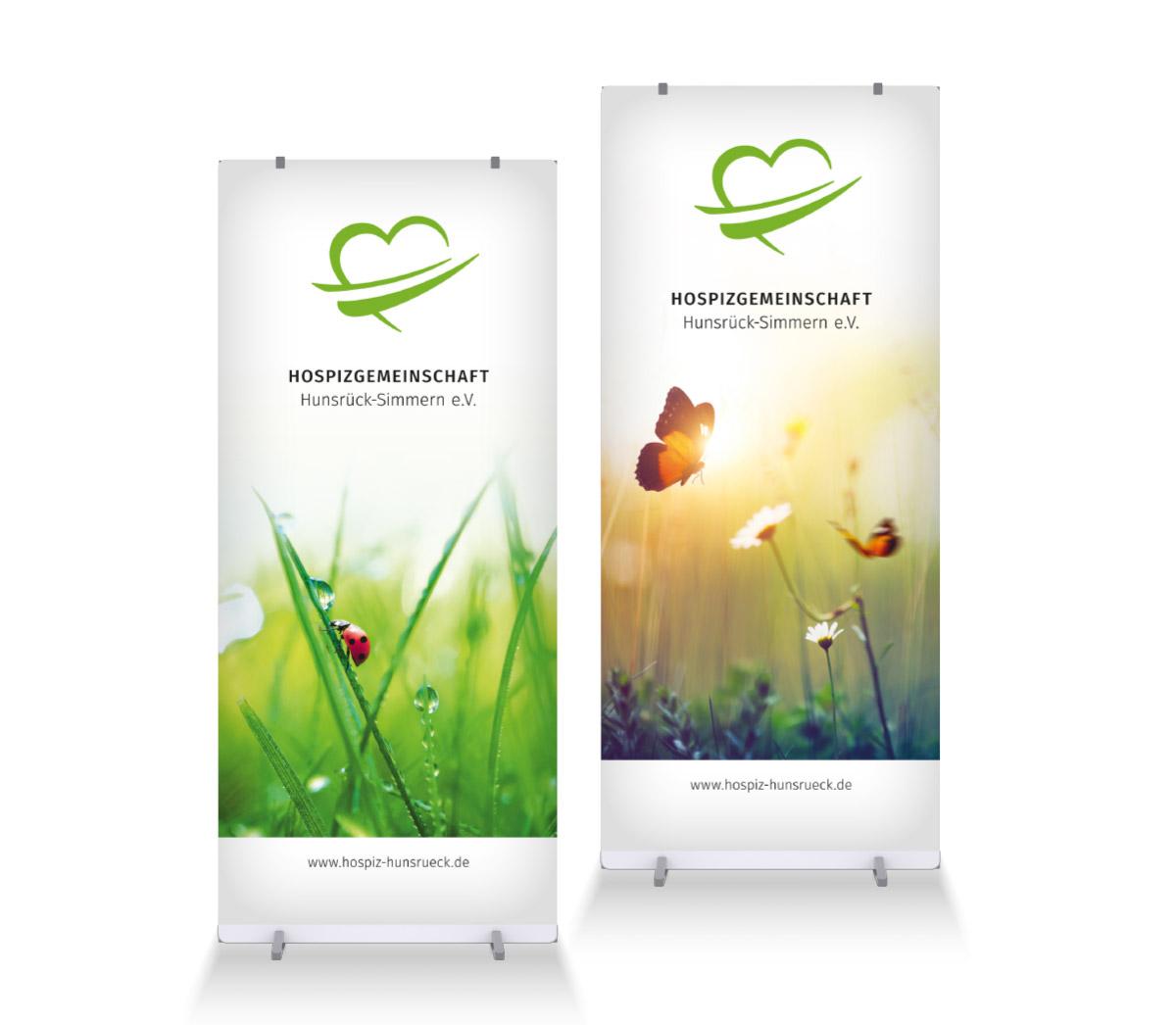 Roll Up Displays Hospizgemeinschaft Hunsrück-Simmern