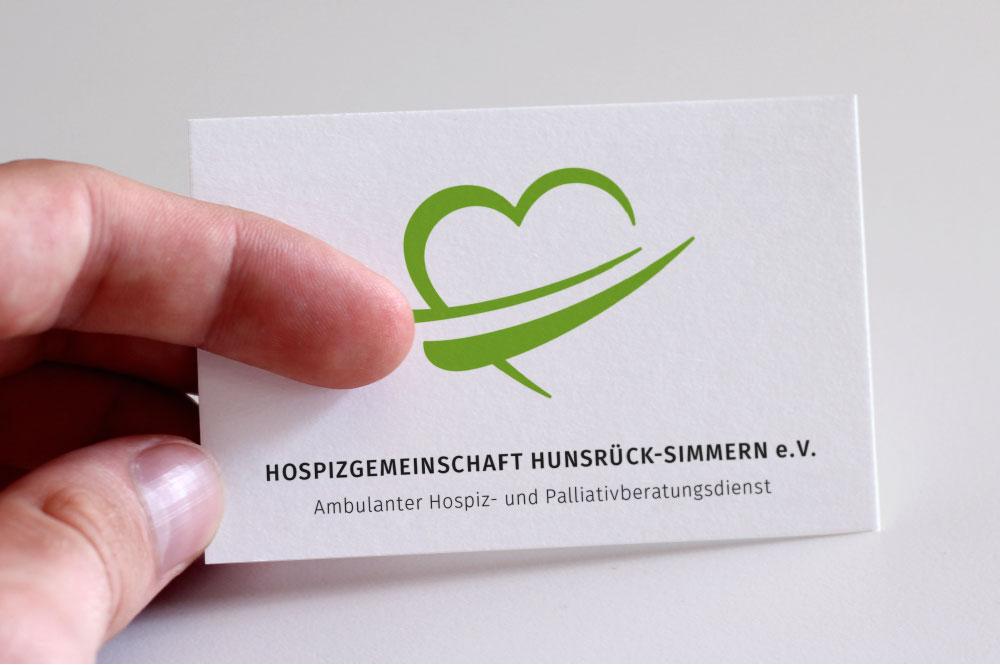 Visitenkarte Hospizgemeinschaft Hunsrück-Simmern